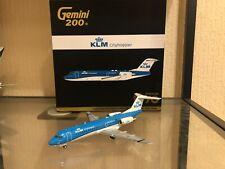 Gemini 200 KLM City hopper New Colours Fokker 70 G2KLM564 PH-KZU 1:200 Very Rare