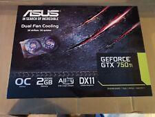 Asus Nvidia GTX 750ti 2gb OC BOX ONLY!!!