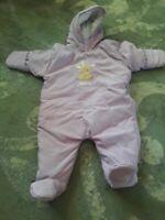 Child Of Mine Baby Girl Snowsuit