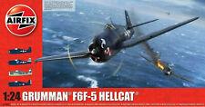 Airfix Grumman F6F-5 Hellcat 1:24 Plastic Model Plane A19004