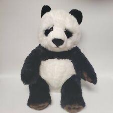 "FAO Schwarz Panda Bear Plush Stuffed Animal 2015 Toys R Us 16"""