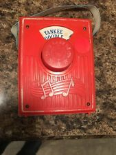 Yankee Doodle Music Box Pocket Radio 1975 Fisher-Price Toys Number 779