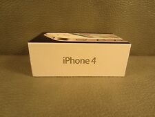 EMPTY BOX Genuine Original Authentic Apple iPhone 4 8GB White ~ BOX ONLY
