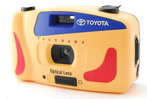 RARE NEAR MINT+++ TOYOTA Novelty Panorama 35mm Film Camera for Collection Japan