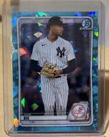 2020 Bowman Draft Sapphire Luis Gil #4/20 BD-132 Yankees