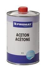 ACETON 1L Verdünner Reiniger Entfetter Lösemittel Lackentferner PROMAT
