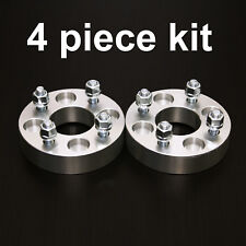 "4pc 1"" Adapter Spacers - allows 4x130 Cars to use 4x100 Wheels - 12x1.5 Studs"