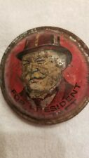 William Howard Taft For President Campaign Noise Maker 1908 James S. Sherman VP