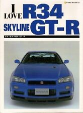 I LOVE R34 GT-R NISSAN SKYLINE GT-R BOOK .