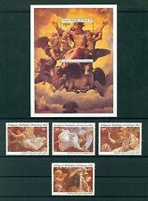 Antigua&Barbuda 1983, Paintings, Christmas Raphael Set of Stamp&M/Sheet, MNH 126