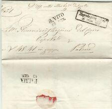 2455-FRIULI, PREF., DA S. VITO ( AL TAGLIAMENTO) PER PALMA ( PALMANOVA), 1855