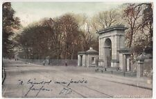 Wigan; Plantation Gates PPC, 1907 PMK By Milton, Haigh Park