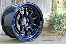 """CALI ❤"" x Chikara RS10 Custom Mag Blue Collab 18x9.5 5x114.3+20  Pre-Order"