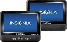 "Insignia 9"" Dual Screen Portable DVD Player NS-D9PDVD15 Black New Other"