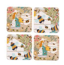 Bee Keeper Set of 4 Coasters by Ulster Weavers