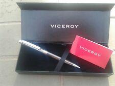 Viceroy Pen With Box Chrome Finish Single Kit Legacy Woodturning