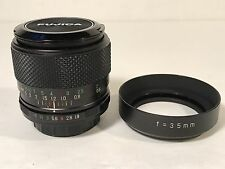 EBC Fujinon W 35mm f1.9 Fuji Photo Film Co Fujica M42 SLR Camera Lens Rare EUC