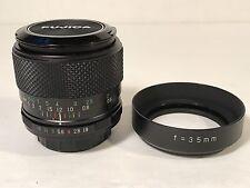 EBC Fujinon W 35mm f1.9 Fuji Photo Film Co Fujica M42 SLR Camera Lens Rare EUC