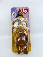 TY Teenie BEANIE BABIES McDonalds 1999 Britannia the Bear - NIB