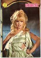 Plateia Magazine  Brigitte Bardot Cover  1966  Virna Lisi  Movie Ads Sinatra
