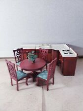9 Pc. Lower dollhouse deluxes Kitchen cabinets furniture miniature Scale 1:12