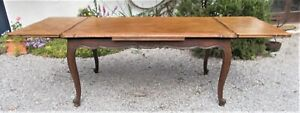 vintage French oak table, large extending 10/12 seater parquet dining table,2m48
