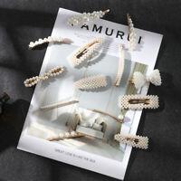 Hair Accessories Fashion Pearl Hair Clips Sweet Hairpins Barrettes Headwear