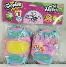 Shopkins Kids 3-D Protective Gear Pad Set with Gloves Narly Noggins Girl 5+ New