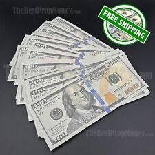 THE BEST PROP MONEY - 50x $100 Bills - $5,000 - Joke Play Fake Prop Movie Money