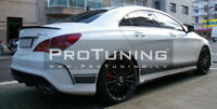 For Mercedes CLA W117 Rear spoiler Boot Trunk Lip Benz MB wing Tailgate Trim