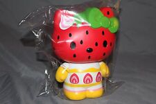 "New RARE Hello Kitty Collectible Vinyl 8"" Piggy Bank Watermelon Limited Edition"