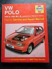 VW Polo 1994-1998 Haynes Manual