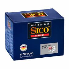 SICO 52 SIZE X-TRA Kondome, 50er Packung