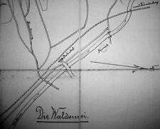 Menden, DIE WALDEMEI, 1:5.000, ca.1890, handgezeichnete Karte