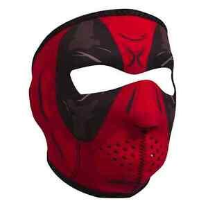 Deadpool Motorcycle Biker Warm Protective Neoprene Full Face Ski Mask