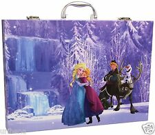 Crayola Disney Frozen Inspiration Art Case Portable Studio Crayons Paper 04-2539