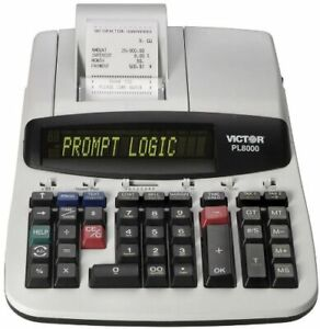Victor Pl8000 Thermal Printing Calculator - 14 Character[s] - Lcd - Ac Supply