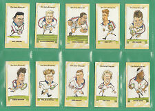 DAILY  TELEGRAPH  -  BEAUTIFUL  SET  OF  26  -  ENGLAND  RUGBY  WORLD  CUP  1995