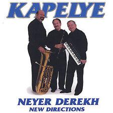 "Kapelye ""Neyer Derekh: New Directions"" cd NM"