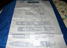 SS ITALIS ex SS AMERICA ex SS AUSTRALIS Chandris liner deck plan