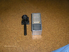 KIMAC HAND HELD SLIDE VIEWER AND AUTOMATIC SLIDE MAGAZINE WITH SLIDES