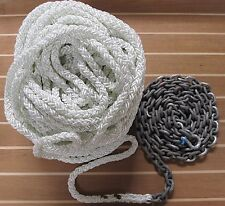 "Anchor Rode     ""Summer Special""    300ft 1/2"" 8 Plait / 20ft 1/4"" G4 Chain"