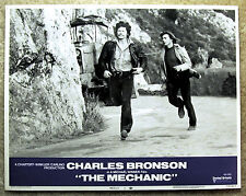 CHARLES BRONSON, Jan-Michael Vincent Lobby Card THE MECHANIC (1972) #1, MINT!