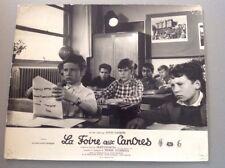 PHOTO D'EXPLOITATION (LOBBY CARD) : LA FOIRE AUX CANCRES