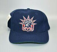 New York Rangers Vintage Twins Enterprise Alternate Logo Snapback Cap Hat - NWT