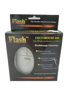 Vintage Erogmouse 600 PS/2 Port Flash New Free Shipping
