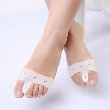 Silicone Bunion Splint Toe Separator Corrector Hallux Valgus Foot Care Massager