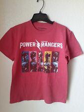 Power Rangers Boys Red T-shirt Size M