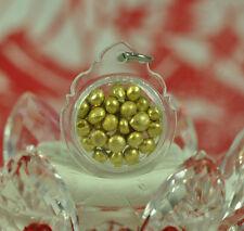 Gold LEKLAI Thong Pha Lai Thai buddha top Amulet LP SOMPHON Seed LEK LAI pendant