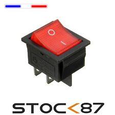 996E# interrupteur à bascule avec Voyant 16A 2 RT 2 positions ON-OFF 1->10pcs